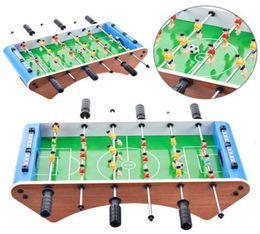 Football Games For Kids NZ - Classic Football Soccer Table Six-bar Portable Mini Table Football Game Set Balls Score Keeper For Adults Kids DDA256