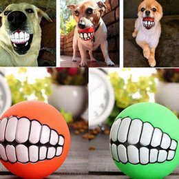 $enCountryForm.capitalKeyWord Canada - Pet Puppy Dog Funny Ball Teeth Silicon Chew Sound Dogs Play New Funny Pets Dog Puppy Ball Teeth Silicon Toy