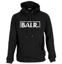 Chinese  2016 Fleece BALR Casual Unisex Hoodies Sweatshirt Cool Hip Pop Pullover Mens&women Sportwear Coat Jogger Tracksuit Fashion manufacturers