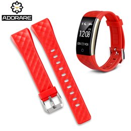 Replacement Bracelet Watch Bands Australia - ADORARE S2 Watches Straps Silicone Belt Band Replacement Smart Watch Bracelets Accessories For S2 Smartwatches 3 colors straps
