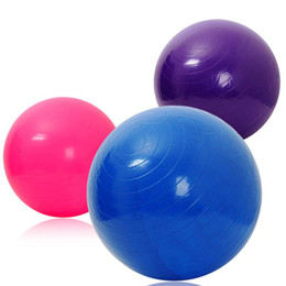 PVC 65cm gym yoga exercise ball to shape body on Sale