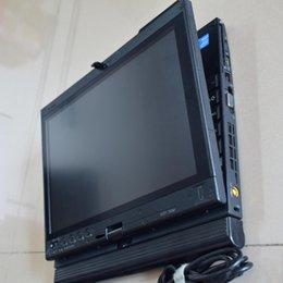 Para Lenovo I7 CPU 4 gb Ram Laptop X201T Laptop de diagnóstico con win7 hdd para bmw icom a2 / a3 / next