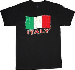 $enCountryForm.capitalKeyWord UK - Italy T-shirt Italian Flag Design Mens Tee Shirt Travel Country Funny Men T Shirt 2018 Summer Free Shipping