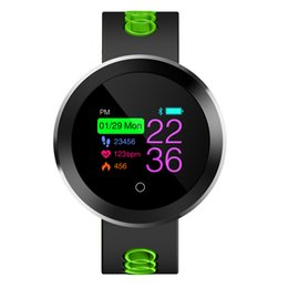 $enCountryForm.capitalKeyWord Australia - Q8 Pro OLED Tracker Sport Smart Watch IP68 Waterproof Silicone Watchband Heart Rate Monitor IOS9.0 Android 4.4 Above System