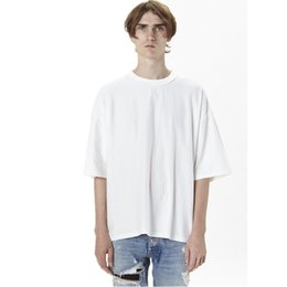 $enCountryForm.capitalKeyWord UK - wholesale price oversized Summer breathable t shirt homme Kanye WEST clothes style t-shirt hip hop streetwear mens t shirts