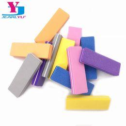 Mini Buffer Blocks Australia - Cheap Files & Buffers Multicolor File Buffer Sponge Mini Nail File Block Buffer Sanding 100 180 Professional Nail Art Tools Salon