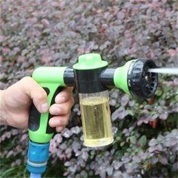 Contemporary walls online shopping - Water Zoom Gardens Sprays Sprinkler Brush Car Foam Gun Pet Bathe Plastic Multi Function Bathroom Shower Heads zb V