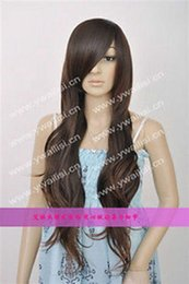 $enCountryForm.capitalKeyWord NZ - 100% Real Hair! New Long Dark Brown Fashion Wavy Wigs >>Free shipping New High Quality Fashion Picture wig