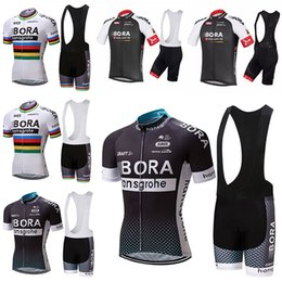 Discount bora jersey BORA Cycling Clothing   Cycling Jersey  Bicycle Team Roupa Ciclismo bike Outdoor bicicleta Sportswear Short Sleeve Suit