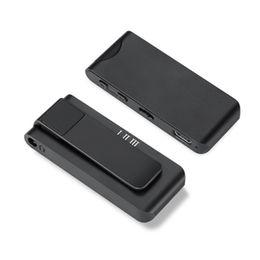 Radio Record Mp3 UK - Mini Clip 8GB 16GB Digital Voice Recorder Pen FM Radio MP3 Support OTG Remote Wireless Recording 80M Wireless Recording Belt