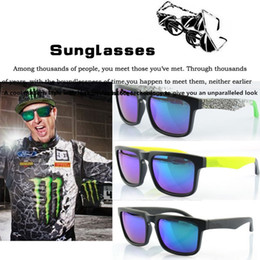 $enCountryForm.capitalKeyWord NZ - Whosale 33 Colors Brand Designer Spied KEN BLOCK Sunglasses Helm Sunglasses Men Square Frame Male Driving Sun Glasses Shades Oculos De Sol