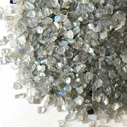 $enCountryForm.capitalKeyWord NZ - 100g Grey Moonstone Quartz Gravel crystal New Decorate Aquarium Fish Tank Stone Tumbled Crushed Irregular Shaped Chips Reiki Healing Rough