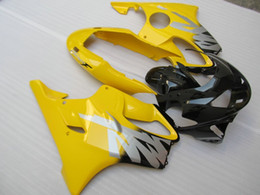 honda cbr f4 fairing sets 2019 - Injection mold Fairing kit for HONDA CBR600F4 99 00 CBR600 F4 1999 2000 CBR 600 ABS Yellow black Fairings set+7gifts HC0