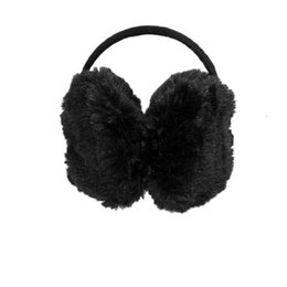 $enCountryForm.capitalKeyWord Canada - 5x Lady Pure Plush Comfy Warmer Headband Back Ear Muffs Earmuffs Black