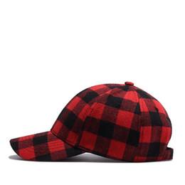 092188a42 Dancer Explosion Cotton Black Red Plaid Cap Men s Korean Hat Foreign Trade  Baseball Cap Summer
