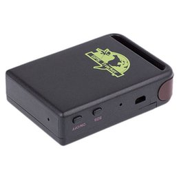 Gsm Gprs Gps Australia - Vehicle GSM GPRS GPS Tracker Car Tracking Locator Device TK102B Fantastic for Kids Cars Pet