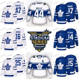 b18d0b4eaaa 2018 Stadium Series Toronto Maple Leafs Mitch Marner Auston Matthews Tyler  Bozak Zach Hyman Nazem Kadri Leo Komarov Josh Leivo Jerseys