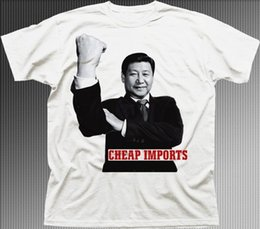 Wholesale black cotton shirts china for sale – custom China President Xi Jinping Finger Cheap Imports funny t shirt UK t shirt tee Shirts Printing Funny T Shirt Hipster Funny