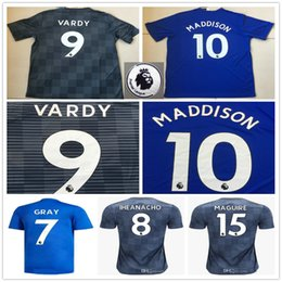 abfa25015 2018 2019 MADDISON Soccer Jersey VARDY GRAY IHEANACHO MAGUIRE NDIDI MORGAN  SIMPSON OKAZAKI Custom Home Away 18 19 Football Shirt
