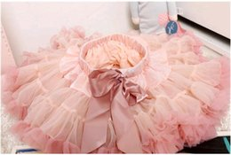Red White Blue Tutus Australia - High Quality Star Tutu Skirt for Toddler Baby Princess Yarn Birthday Party Skort Dresses for girls Gift Kids Clothes 1-9