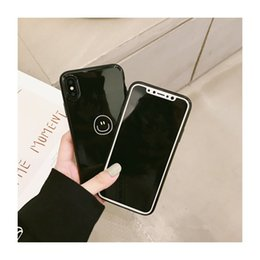 $enCountryForm.capitalKeyWord NZ - 5227-141 black silicone case for iPhoneX, dull polish back cover for iPhone X ,simple slim phone case for iPhoneX smile face
