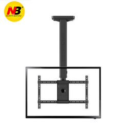 Lcd monitor mounting online shopping - T3260 Full Rotating height Adjustable quot quot Ceiling TV Mount Bracket LED LCD Monitor Holder
