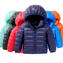 Wholesale fashion kids girls clothing winter jackets Kids Duck Down Coat Baby jacket for girls parka Outerwear Hoodies Boy Coat years