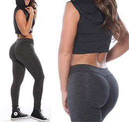 a9ef8368d5a66 Elastic Sports GYM Running Sexy Fitness Women Yoga Pants Shape Butt Jogging  Pants Dry Fit Compression Tights CSWY002