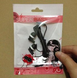 Iphone Accessories Battery NZ - 200pcs Colorful girl Plastic Zipper Retail package Packing bag bags for Iphone Mobile Cell phone Accessories Earphones Battery charge ..
