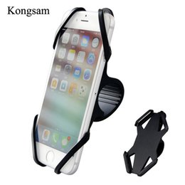 "Discount mobile cell phone holders - Universal Bicycle Phone Holder 4""-6"" inch Handlebar Clip Stand For iPhone Samsung Mobile Cell Phone Holder Bic"