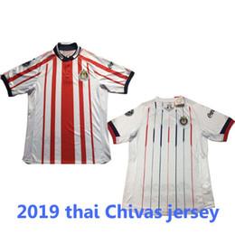 2018 2019 Chivas Guadalajara soccer jerseys red home white away jerseys  Camiseta de futbol away black Mexico Liga MX Club America shirt b3df19e26