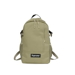 Wholesale Brand Sup Highking th Climb BACKPACK Backpack White branche Backpack Gift Original Rain Cover Nylon Backpacks Unisex Street School