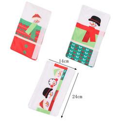 L handLes online shopping - Hot Home Festive Set Snowman Kitchen Appliance Handle Covers Christmas Decor Kitchen Tools Microwave Door Refrigerator Handle Sets