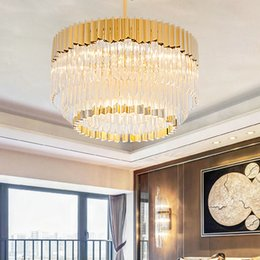 high end pendant lighting. New Design Post-modern Led Pendant Lamps Crystal Glass Chandeliers Creative Luxury High-end Lights Villa Hotel Hall High End Lighting