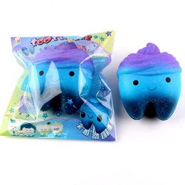 $enCountryForm.capitalKeyWord Australia - Kawaii Squishy Toy Tooth Cake Slow Rising Squishy Toys Tooth Shape Squishy Toy Cute Squishies Toys With Retail Bag DHL Free Shipping
