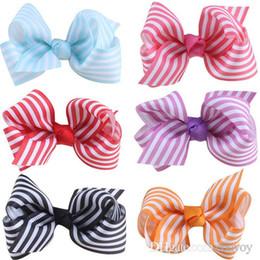 Girl flower handmade hair clip online shopping - Baby Girls hairpins barrette Kids Hair Clips bubble flower clippers Handmade Boutique bow with Clip Chidren Hair Accessories KFJ151