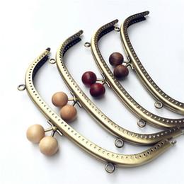 ag Parts   Accessories BDTHOOO 2pcs Lot 20.5cm Metal Purse Frame Clasp  Handles for Coin Purses Clutch Handbag Accessories Making Kis. eec824f20a0b