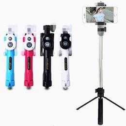 $enCountryForm.capitalKeyWord NZ - Tripod Selfie Stick Bluetooth Remote Shutter Timer Selfie Monopod Handheld Holder Extendable Self Portrait Sticks for Android Smartphone