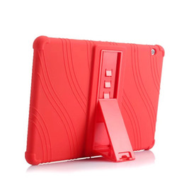 China Soft Silicone Rubber TPU Back Cover for Huawei MediaPad T3 10 AGS-W09 AGS-L09 Honor Play Pad 2 9.6 inch Tablet Case with Stand suppliers
