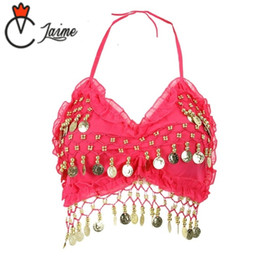 $enCountryForm.capitalKeyWord Australia - 2018 High quality brand new women cheap belly dance sexy Apron tops,bellydance costume top on sale 13 color