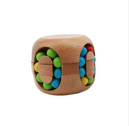 Cube jigsaw puzzle online shopping - Brain Teaser Toy Intelligent China Kongming Lock Hamburg Rubi k s Magic Cube Jigsaw Puzzle Beech Wood MU879576