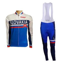 Flag Cycling Jerseys Australia - sping autumn pro team slovakia flag 2017 cycling  jersey long sleeve 59c713b45