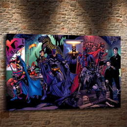 $enCountryForm.capitalKeyWord Australia - DC SUPERHERO BATMAN HARLEY QUINN,1 Pieces Canvas Prints Wall Art Oil Painting Home Decor (Unframed Framed)