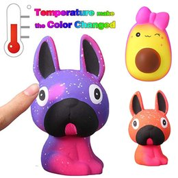 $enCountryForm.capitalKeyWord Australia - Temperature Color Slow Rebound PU Simulation Toy Slow Rising Stress Reliever Toy Kawaii Phone Straps without Chain