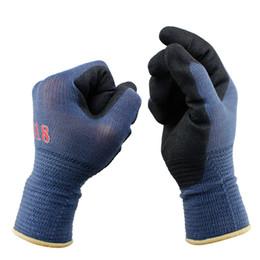 $enCountryForm.capitalKeyWord Australia - 3Pairs Pack Mechanics Work Gloves Breathe Waterproof Nitril Coating Nylon Safety Garden Gloves Gardening ,Construction Gloves D18110705