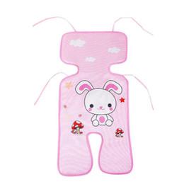 Infant stroller cover online shopping - 2018 Hot Sale Summer Baby Ice Silk Mat Baby Stroller Mat Thickening Car Seat Pad Infant Stroller Seat Cover Colors