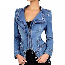 $enCountryForm.capitalKeyWord UK - Autumn Luxury Vintage Girls Slim Clothes Womens Denim Jacket Bomber Chaqueta Mujer Woman Jeans Biker Coat Plus Size 6XL