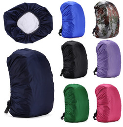 raincoat backpack cover Canada - Backpack Raincoat Suit for 30L-55L Waterproof Fabrics Rain Covers Travel Camping Hiking Outdoor Luggage Bag Raincoats