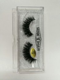 Wholesale Brand New D Mink hair False Eyelashes Real Thick Mink Hair for Beauty Fake Lashes styles available DHL Free