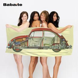 luxury microfiber 2019 - Babaite Luxury Microfiber Beach Towel Sofa Cover Soft Bath Quick Dry Pool Sheet Swimming Wrap Blanket cheap luxury micro